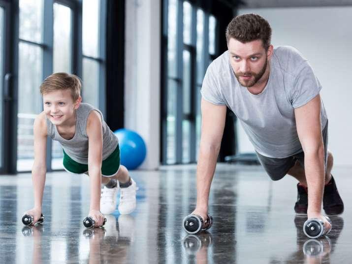 健身只有一個目的——強健體魄