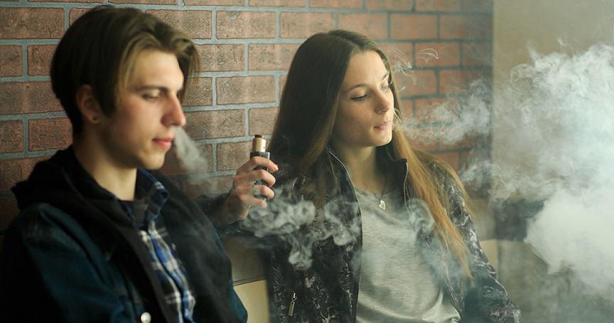 電子煙新開發的年輕顧客群及受害人