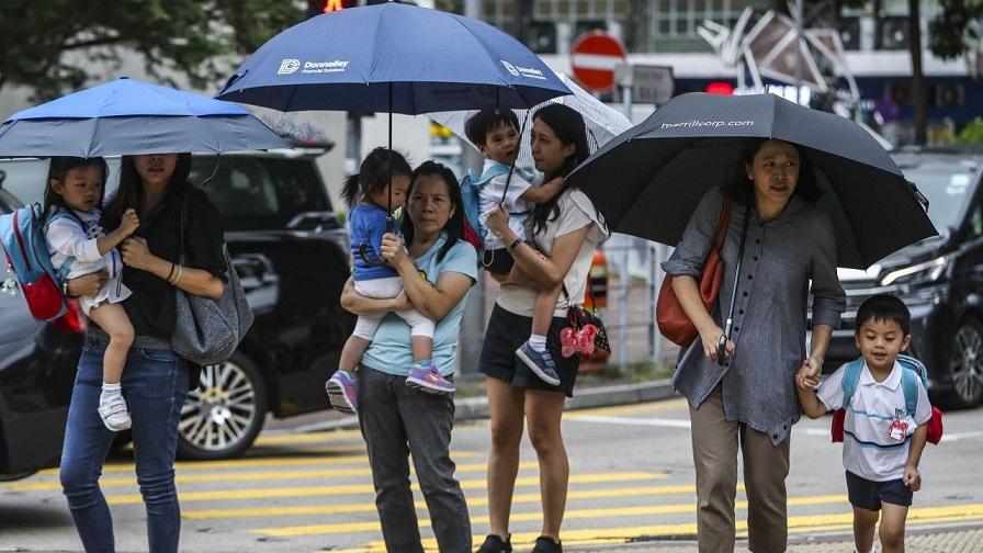 在香港聘用外傭